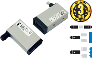 DC Miniaturised Cubic Photoelectric Sensors